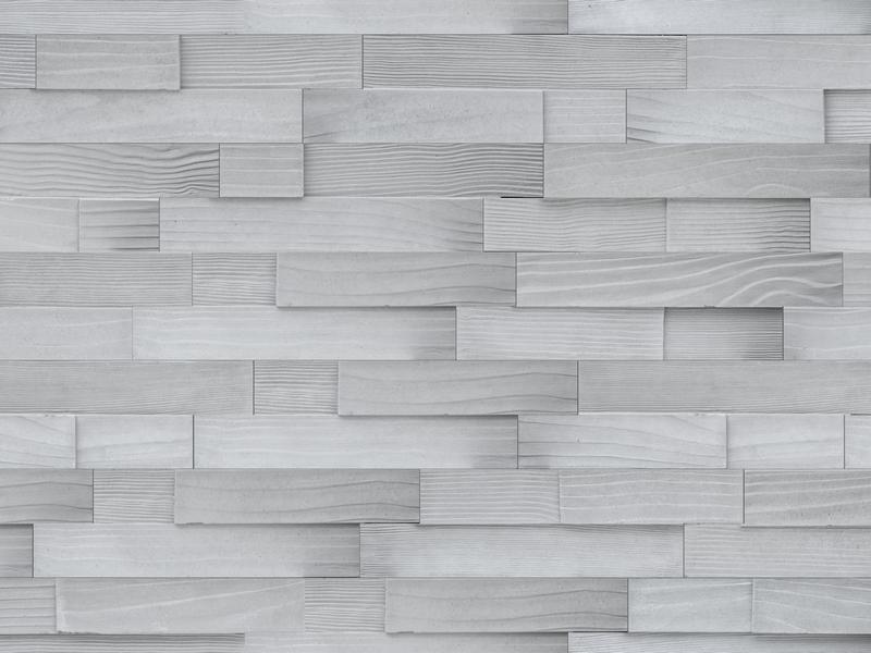 WS083 WoodStrip silver stěna